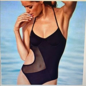 Victoria's Secret black one piece swimsuit size XS
